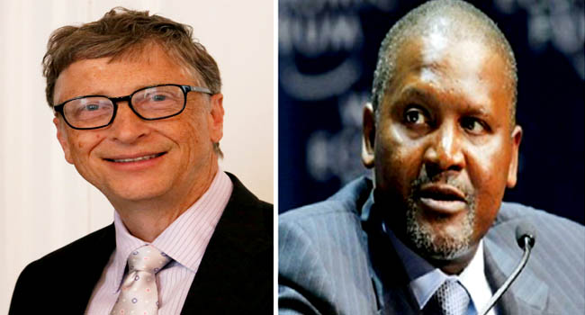 Bill Gates, Dangote Challenge FG To Invest In Human Capital