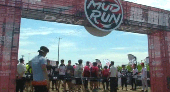 Shanghai Hosts Annual Mud Run Competition