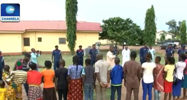 NSCDC Arrests Suspected Human Traffickers In Ekiti
