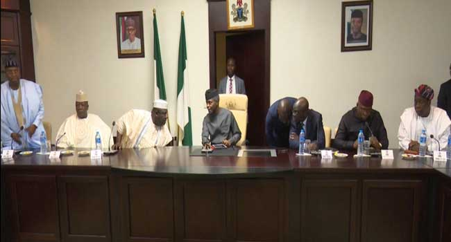 Politics Osinbajo, APC Governors Meet In Abuja