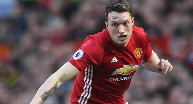 Phil Jones, Daley Blind Punished Over Breach Of UEFA Doping Rules