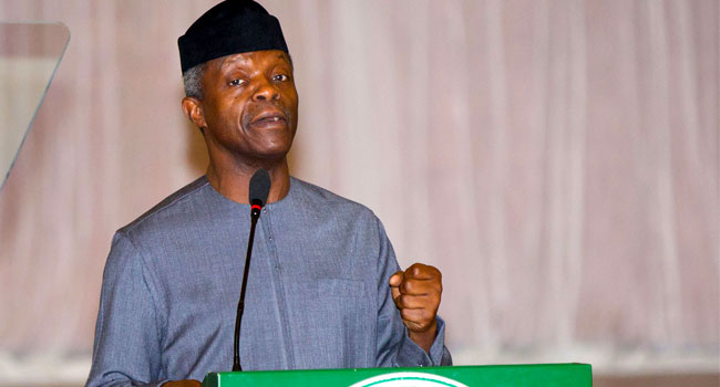 Osinbajo jets out to meet Buhari in London