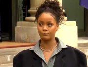 French President Macron, Wife Host Rihanna