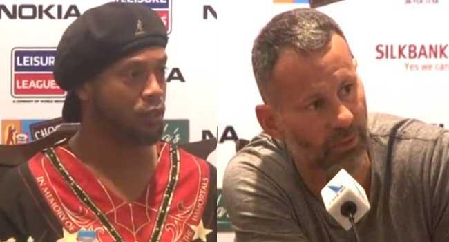 Ronaldinho, Giggs Talk Up Pakistan's Soccer Chances