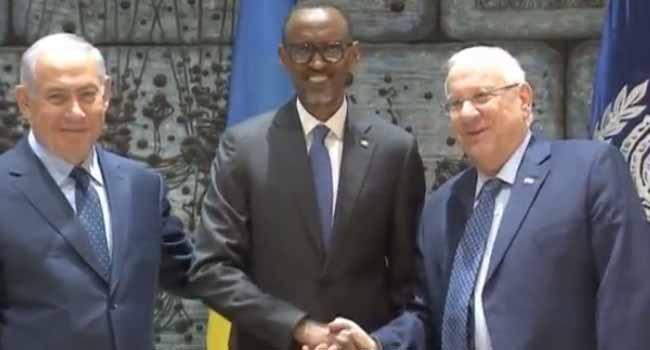 Rwanda's President Meets Israel's leadership In Jerusalem