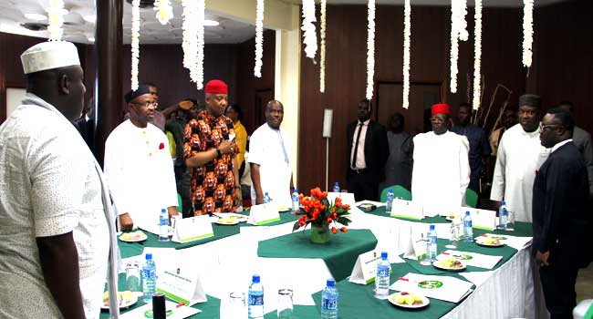 Regional integration and many other things South-East, South-South governors discussed