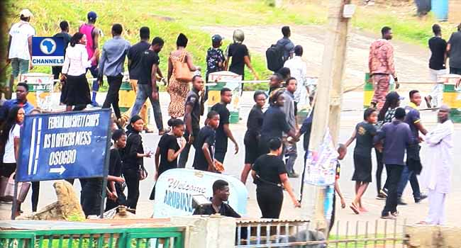 UNIOSUN Protest: Police Say Calm Is Restored