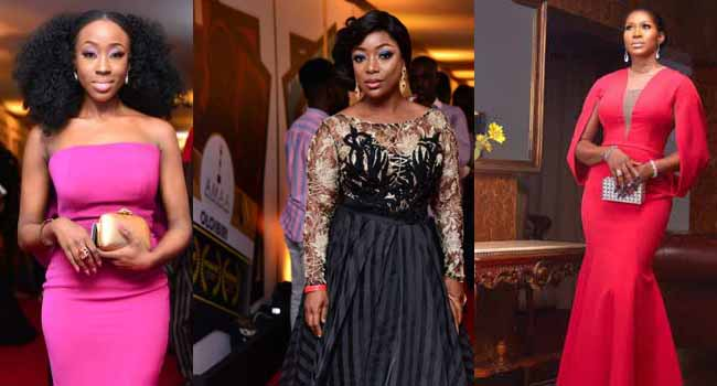 Stephanie Linus, Others Stun At AMAA 2017