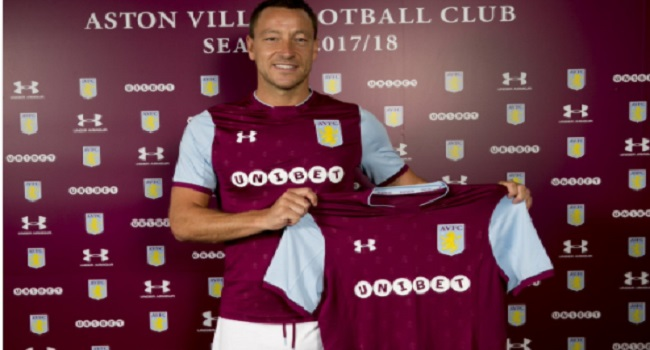John Terry Joins Aston Villa