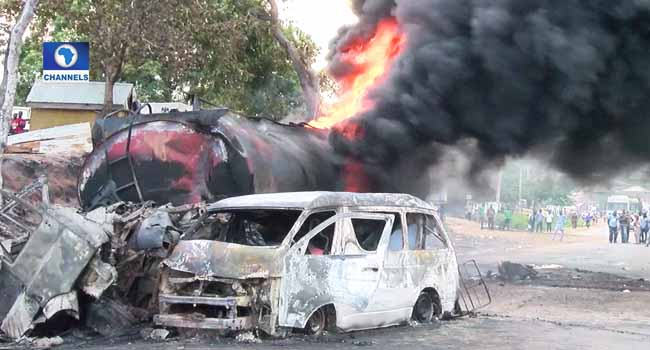 PHOTOS: 10 Persons Killed In Kogi Tanker Accident