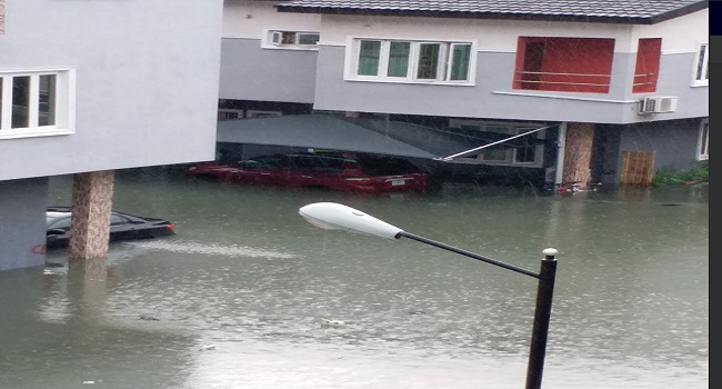 Lekki Flood: Residents Remain Trapped In Homes