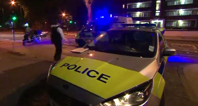 Acid attack at five places in London, teenager arrested