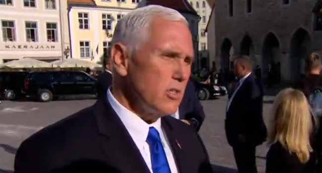 Pence Pledges US?Will Support Baltics In Face Of Russian Aggression