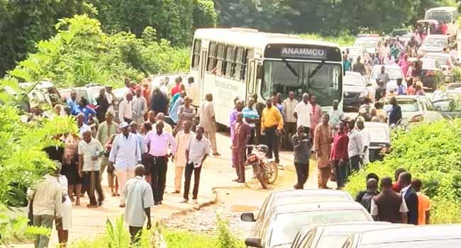 Ekiti University Students Union Protest Over Elections