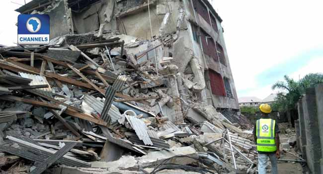 Three-Storey Building Collapses In Alaba Market, Lagos