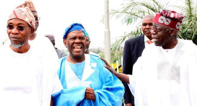 [PHOTOS] Tinubu, Akande Pay Condolence Visit To Aregbesola