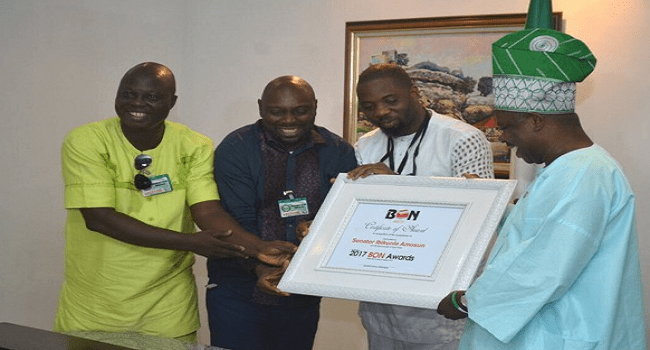 Governor Amosun Declares Support For Nollywood Awards