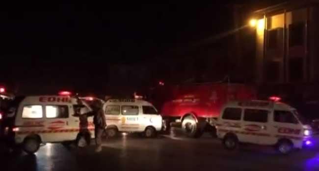 Bomb Blast Kills 15 In Pakistan
