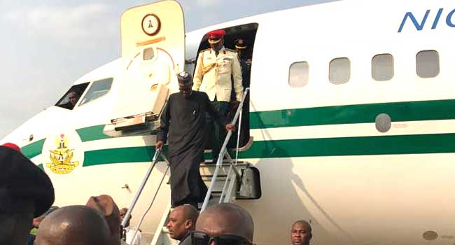 Buhari to work from home for now - Presidency