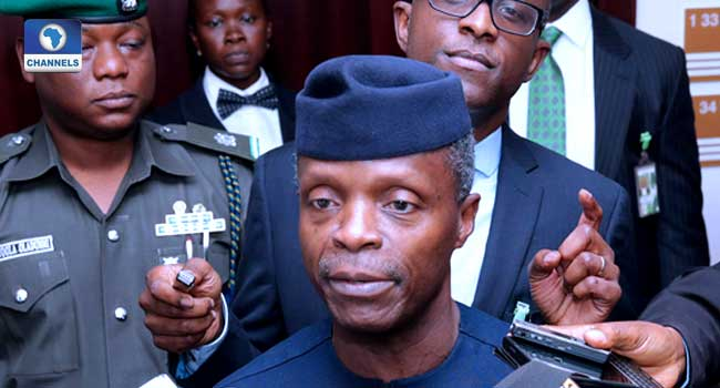Unbridled Corruption Led Nigeria Into Recession – Osinbajo