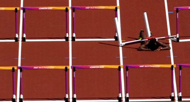 [PHOTOS] Athlete Deborah John Injured At World Championships
