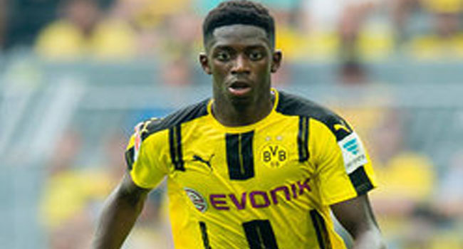 Dortmund determine Dembele price