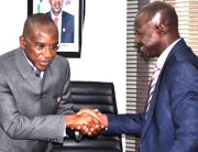 PHOTOS: EFCC Assures AMCON Of Support On Asset Recovery