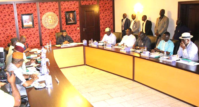 South-East, South-South Governors Back Nigeria's Unity