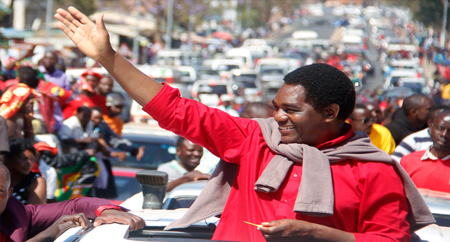 Zambian Opposition Leader Says Arrest Was Political