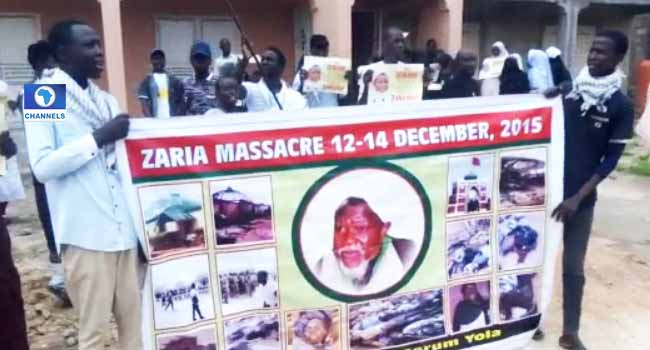 Youths Protest In Yola To Demand Release Of El-Zakzaki