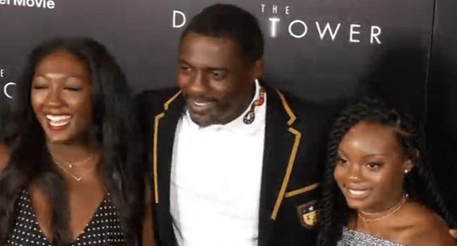 Idris Elba ,McConaughey Attend Premiere Of 'The Dark Tower'