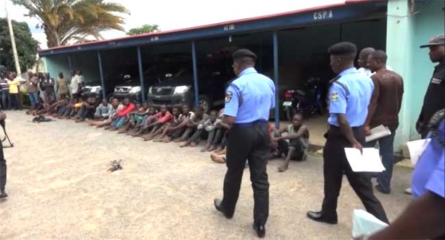 Police Arrest 40 More Suspected Kidnappers Along Abuja-Kaduna Highway