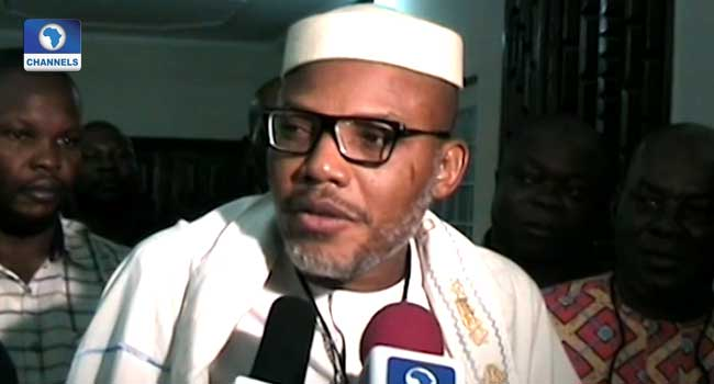 IPOB Will Never Be Violent, Says Nnamdi Kanu