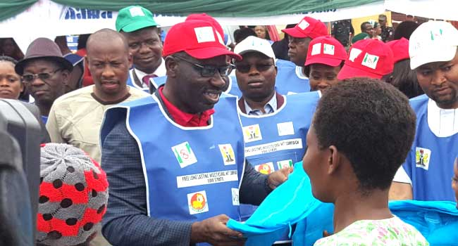 Obaseki Flags Off Distribution Of 2.6m Insecticidal Nets