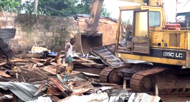 Ogun Government Demolishes Over 360 Shanties, Illegal Structures