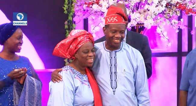 Pastor Adeboye, Wife Go Romantic At Book Launch