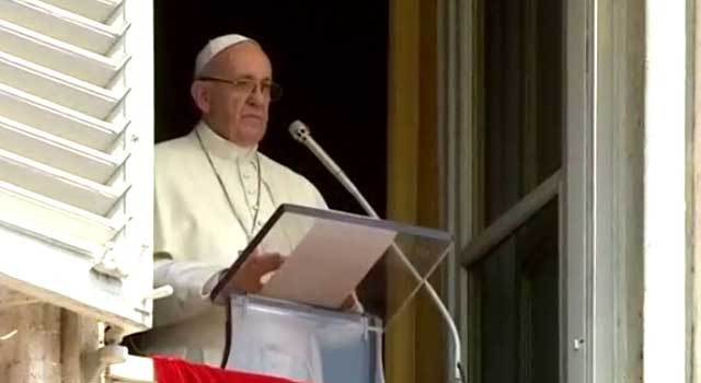 Pope Francis Calls for Prayers to Rid World of Terrorism
