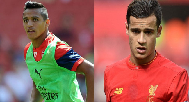 Transfer: Sanchez, Coutinho On Alert As Deal Deadline Looms