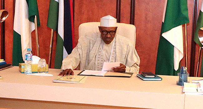 PHOTOS: Buhari Presides Over Security Meeting