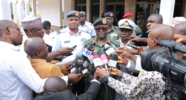 What We Discussed With Buhari – Chief Of Defence Staff