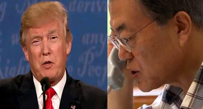 North Korea: Trump, Moon To Meet In April