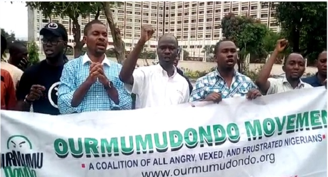 PHOTOS: Concerned Nigerians Protest Enters Day Seven