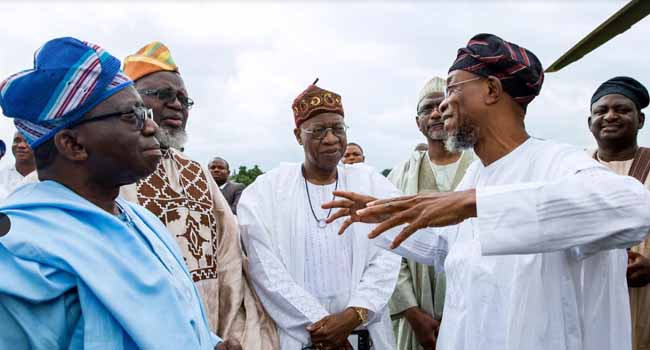FG Delegation Pays Condolence Visit To Aregbesola