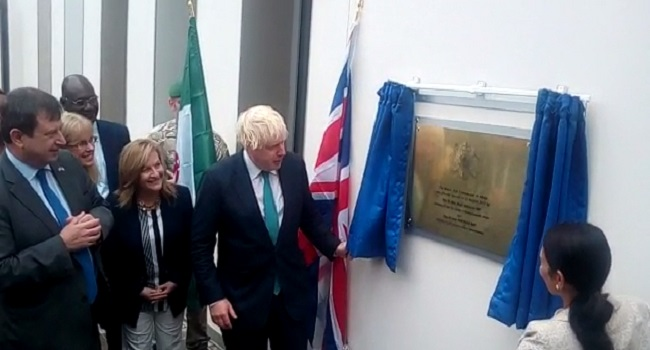 PHOTOS: British High Commission Unveils New Office