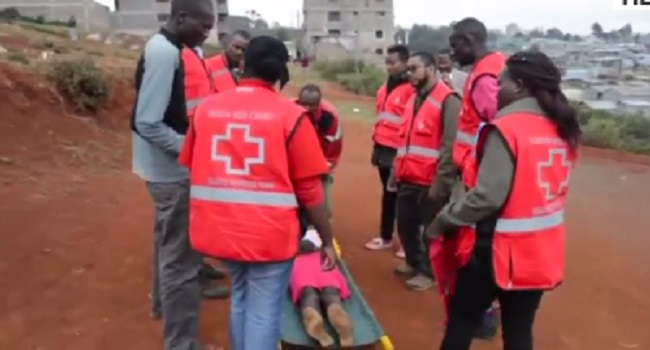 Kenya Red Cross Treats Scores Of Injured From Post ...