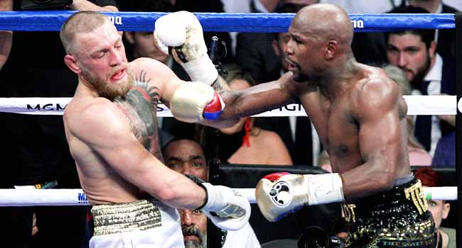 PHOTOS: I'm Finished, Says Mayweather After McGregor Rout