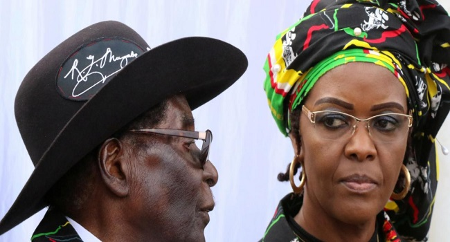Mugabe's Wife Surrenders To South African Police