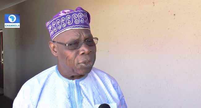 I Don't Think Anyone Can Intimidate Me – Obasanjo