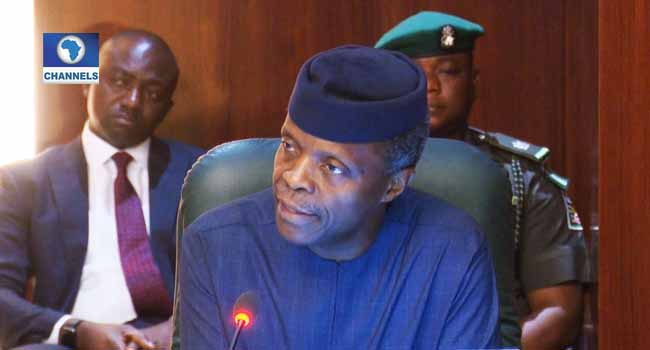 Osinbajo Leads Dangote, Others To Investment Summit In Edo