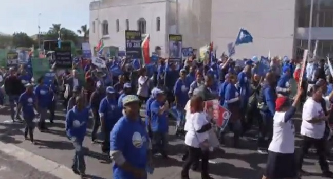 South Africans Take To Streets Ahead Of No-Confidence Vote